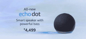 New 4th Gen Echo and FireTV Sticks Online at Amazon India | Techbuy.in
