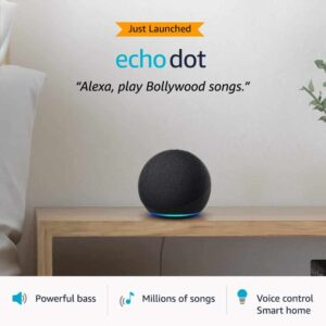 New 4th AVGen Echo and Alexa Devices Online at Amazon India | Techbuy.in