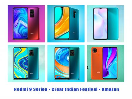 Redmi 9 Series - Great Indian Festival 2020 -Amazon - TechBuy.in