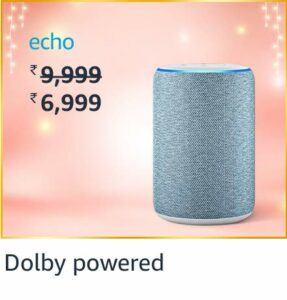 50% off on Amazon - Echo - Kindle - Fire TV - Great Indian Festival 2020